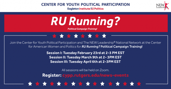 RU Running? Political Campaign Training